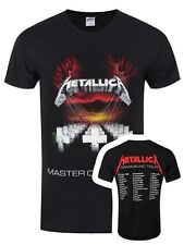 Metallica MOP 86 European Tour Men's Black T-shirt