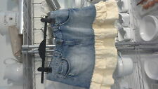 TU denim and cheesecloth skirt size 12