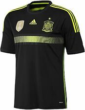 ADIDAS SPAIN AWAY YOUTH JERSEY FIFA WORLD CUP 2014 ESPAÑA Black/Electricity