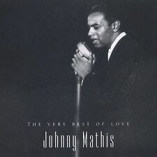 JOHNNY MATHIS The Very Best of Love Audio 2 CD's NICE SHAPE