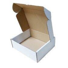 White Shipping  Boxes Postal Mailing Gift Pcket Small Parcel Strong Cardboard