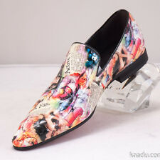 XL158 Clevis Fashion Shoe Loafer Multi Color Lady Magazine Patent Leather Hot...