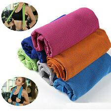 Ice Cold Enduring Running Jogging Gym Chilly Pad Instant Cooling Towel Sport Hot