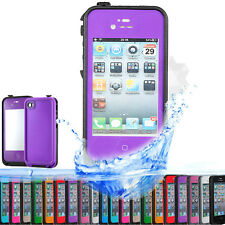 Waterproof Shockproof Dirt Snow Proof Case Cover For iPhone 4 4S