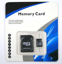 !32GB Micro SD SDHC TF Memory Card Class 10 w/SD Adapter for Smart Phones Tablet