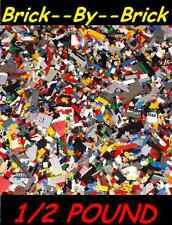 1/2 POUND LB OF LEGOS LEGO PIECES FROM HUGE BULK LOT BRICKS PARTS AT RANDOM