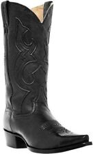 Dan Post Genuine Leather Men's Western Boots Bexar Black DP2295 All Sizes