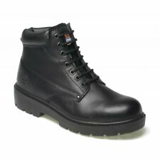 DICKIES ANTRIM LEATHER SAFETY WORK BOOT STEEL TOE CAP VARIOUS COLOURS SIZE 7-12
