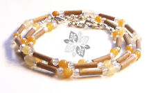 Hazelwood SET Therapeutic Citrine - Crystal (Necklace-Bracelet or Anklet) #
