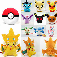 Pokemon Pocket Monster Pokedoll Throw Pillow Cushion Toy JP Anime Plush Doll New
