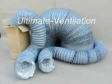 160mm/6mt COMBIFLEX COMBI FLEXIBLE DUCTING for WELDING FUME EXTRACTOR FANS, GREY