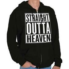 Straight Outta Heaven City Funny Movie T Shirt Gift Ideas Zipper Hoodie