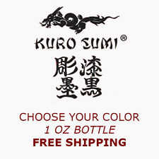 Kuro Sumi Tattoo Ink - 1 oz - Choose your color