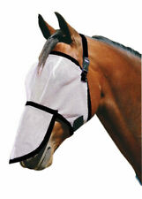 NEW Horse Pony Fly+Mask+Fly+Veil set with Removable Nose UV+Insect Protector