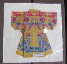 New in Package Japan Handkerchief Kimono w/ Directions