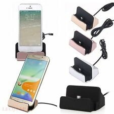 Desktop Charger Stand Dock Station Sync Charge Cradle For iPhone Samsung LG MOTO
