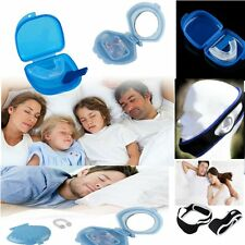 Anti Snore Stop Snoring Efficient Jaw Belt Mouthpiece Guard Nose Clip Nice Night