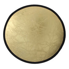 2-in-1 Light Mulit Collapsible Disc Photography Reflector Silver/Gold Equipment