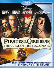 Pirates of the Caribbean: The Curse of the Black Pearl (Blu-ray, 2-Discs) Xtras
