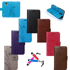 Slim Magnetic Wallet Flip Leather Stand Card Case Cover For Samsung Galaxy+Gift