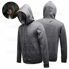 PROTOTYPE Action Game Alex Mercer Grey Cotton Hoodie Jacket Cosplay Hoody