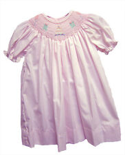 Petit Ami Girls Smocked Birthday Dress Pink Dressy Infant NWT 18 Months
