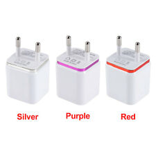 1A 2.1A USB Power Adapter AC Wall Charger For iPhone 5 6 Samsung Tablets US Plug