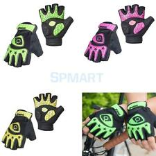 Mens Womens Fingerless Cycling MTB Bike Motorcycle Gloves Half Finger Gel Palm