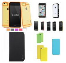 Poetic Case For iPhone 5C  Retail Packaging Slim-Fit Tranparent Hybrid