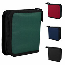 Protable 40 Disc CD DVD Holder DJ Storage Cover Case Organizer Wallet Bag Album