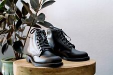 NWT Chippewa Service Boot - Trooper Black made in USA mens boots hand crafted