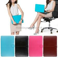 "PU Leather Laptop Netbook Sleeve Bag Case for Macbook Air Pro Retina 11"" 13"" 15"""