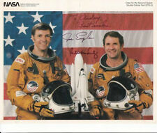autographed nasa Space Shuttle Columbia STS-2 Astronauts Signed