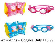 ZOGGS Peppa Pig Junior Kids Inflatable Swimming Armbands-Zoggs Kids Swim Goggles