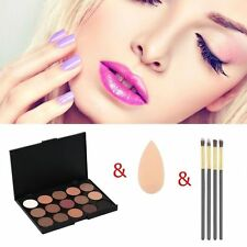 NEW PRO 15 COLORS MAKEUP NEUTRAL NUDES WARM EYESHADOW PALETTE DURABLE  BE
