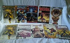Lot of 10 Marvel Graphic Novels Comic Book