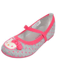 "Hello Kitty Girls' ""Darling"" Ballet Flats (Toddler Sizes 5 - 10)"