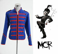 My Chemical Romance Military Parade Jacket Costume Blue Cosplay Costume