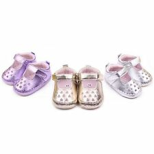 Baby Girls Infant Hollow Out Shoes Prewalker Soft Crib Shoes Baby Walking Shoes