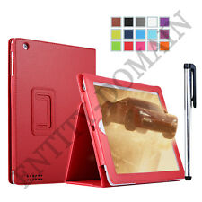 PU Leather Smart Slim Folio Flip Stand Case Cover For iPad 2, iPad 3 & iPad 4