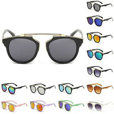 Unisex Vintage Retro Women Men Fashion Sunglasses Classic Mirror Lens Glasses