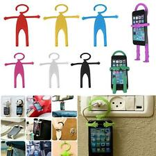 Cute Flexible Silicon Cell Phone Holder Car Home Mobile Hanger Mount for Phone #