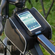 Cycling Bicycle Frame Holder Pannier Mobile Phone Case Pouch Handle Bar Bag