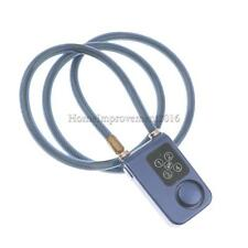 Bicycle Electronic Password Alarm Anti-Theft Security Motorcycle Lock Chain