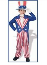 Uncle Sam Costume Medium 8/10 or Large 12/14  JULY 4th  FREE SHIPPING