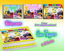 Sesame Street edible Cake toppers picture decal 1st Birthday first image paper 2