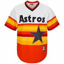 Majestic Cooperstown Cool Base MLB Houston Astros 1986 Rainbow Jersey