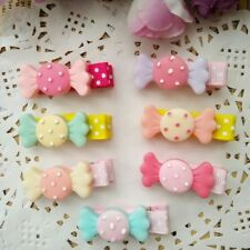 10PCS/lot cute resin candy Kids Girls Baby Hair Clips hairpins Hair Accessories