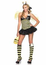 Leg Avenue Sexy 4 PC Daisy Bee Women's Halloween Costume 83343