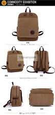 Vintage Camping bag Canvas backpack Rucksack laptop shoulder bag travel for Men